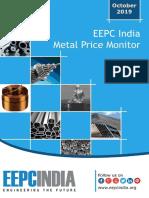 Metal Price Monitor October 2019191023162010420
