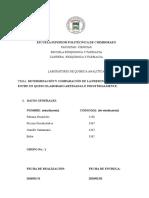 Determinación y Comparación de La Presencia de Calcio, Entre Un Queso Elaborado Artesanal e Industrialmente