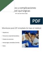 6- Cuidados y Complicaciones Post-OP [Autoguardado]