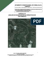 CAPITULO 4 ANALISIS Y SELECCION DE ALTERNATIVAS DE TRATAMIENTO (2).docx