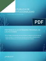 Accion Publica de Inconstitucionalidad