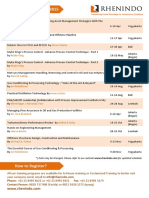 Rhenindo Training Calendar-2015