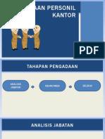 Pengadaan personil kantor.pptx