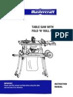 Mastercraft Saw-0556742 En