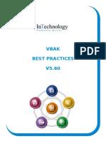 VBAK Best Practices V5 60