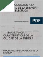 INTRODUCCION A LA CALIDAD DE LA ENERGIA