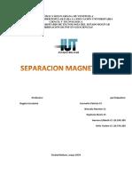 Separación Magnética