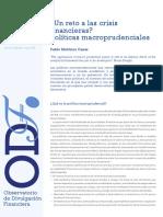 politicas macroprudenciales