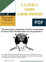 Presentacion La Etica como Amor Propio