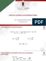 Clase 10. Cinética Química en Biorreactores.