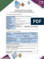 Guía de actividades y rúbrica de evaluación - Paso 2 - Programa informativo.pdf
