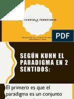 Las Teorías y Paradigmas
