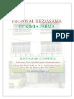 Proposal Kerjasama Pt Kimia Farma Batam