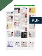 18 Identity Cards