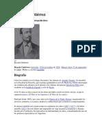 Dr. Ricardo Gutiérrez (Biografia)