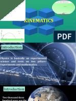 Unit-II-kinematics XI Physics