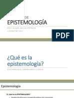Epistemología Para La Investigación en Ciencias Sociales