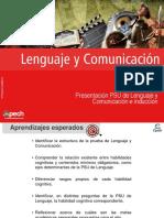 Clase 2 Presentación PSU de Lenguaje y Comunicación e Inducción-1