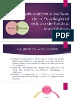 Aplicaciones prácticas - Psicología Económica