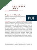La Historia Clínica en Fisioterapia II