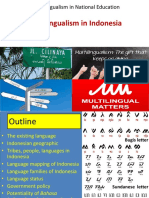Multilingualism in Indonesian context