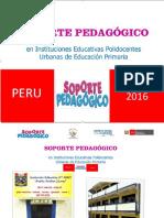 SOPORTE PEDAGOGICO