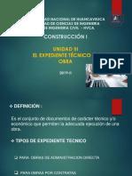 10°CLASE - expediente tecnico