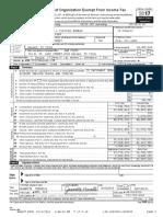 2018 VisitDallas IRS Form 990