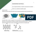 Engineering Materials Summary