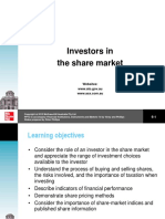 Investors in the Share Market