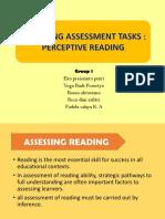 Ppt Perceptive Reading 2