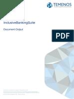 Temenos Document Output