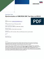 CMC Test Universe AppNote IRIG B Sychronization 2014 ENU