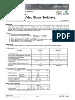 BA7657F,59FS Video Signal Switchers