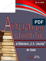 Anuar Științific Nr. 6