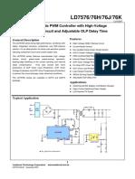 LD7576GS PWM ctrlr.pdf
