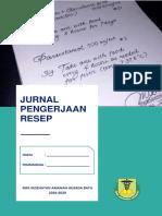 Contoh cover jurnal resep