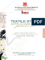 2 Textile Study Applicable to Fashion Art