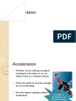 Ppt 4 Acceleration