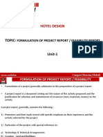 11)Formulation of Project