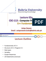 CSC-113-lec2a-C++ Fundamentals to be edited.pptx