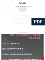 Informatica II Parcial 1. Power Point Ubp