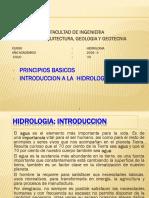 CLASE N° 01 HIDROLOGIA UNJBG