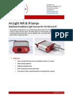 Data Sheet - Arcoptix ArcLight