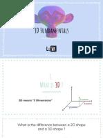 3D Fundamentals