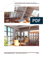 Modeling and Rendering Interior Design
