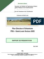 Rapport de Presentation Du Pdu