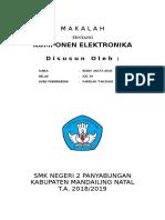 Makalah Komponen Elektronika 2