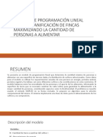 4.Modelo de Programación Lineal Para La Planificación de Fincas