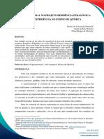 AULA INAUGURAL NO PROJETO RESIDÊNCIA PEDAGÓGICA
